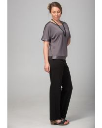 NEW Bamboo Classic Straight Leg Trousers