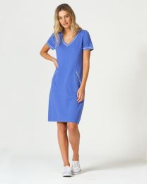 Optimum Cotton V-neck Dress