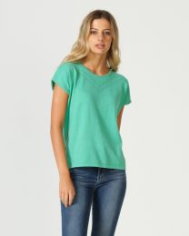 Optimum Cotton Short Sleeve Geo Top