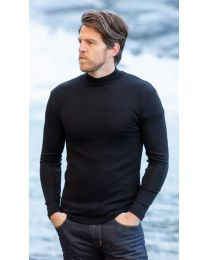 Noble Wilde Merino Men's Turtleneck Top