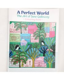 New Zealand Colouring Book by Jane Galloway